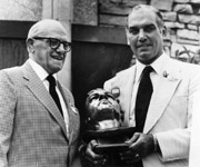 George Halas and George Connor
