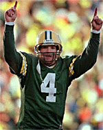 Brett Favre, the third-ranked passer of all-time.  (Photo: Associated Press)