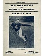 Leemans' Day program