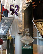 The Trophy on display